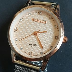 WoMaGe Ladies Watch Swiss made